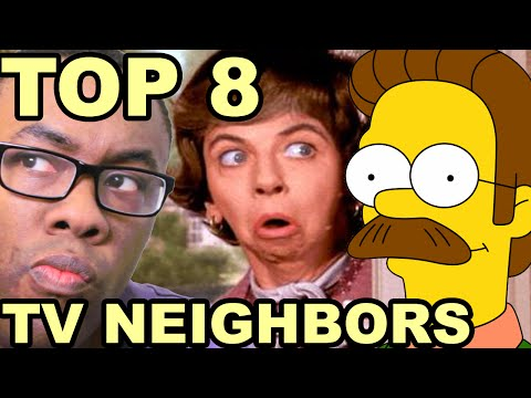 TOP 8 TV NEIGHBOR FEUDS : Black Nerd