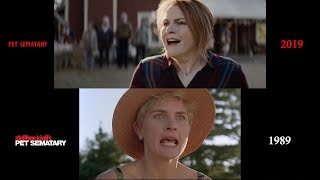 Pet Sematary (1989/2019) side-by-side comparison