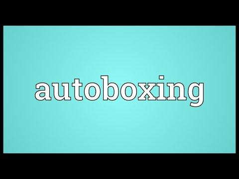 Header of Autoboxing