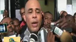 Presidential Candidate Michel Martelly