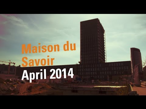 University of Luxembourg in Belval : Maison du Savoir, April 2014