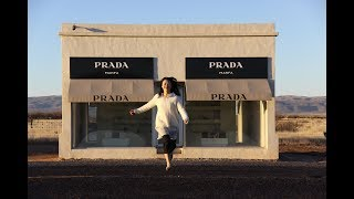 |Travel Vlog| Prada Marfa (Valentine), Marfa, Couldn't find 91 gas in town, Alpine