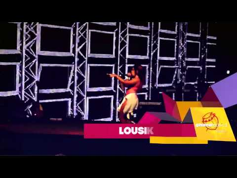 Lousika performs 'Hustle Hard' - @ Sarkodie Live In Concert 2012