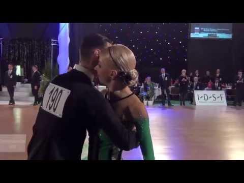 DSFO Megeve 2014 | PD STD | Final Tango | Donatas Vezelis & lina chatkeviciute