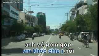 Thành phố buồn  -  Karaoke HD