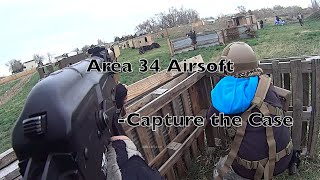 Area 34 Airsoft Gameplay - Capture the Case