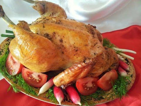 Курица запеченная в духовке. Простой и быстрый рецепт приготовления курицы
