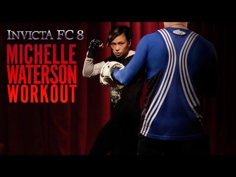 INVICTA 8: Michelle Waterson Workout