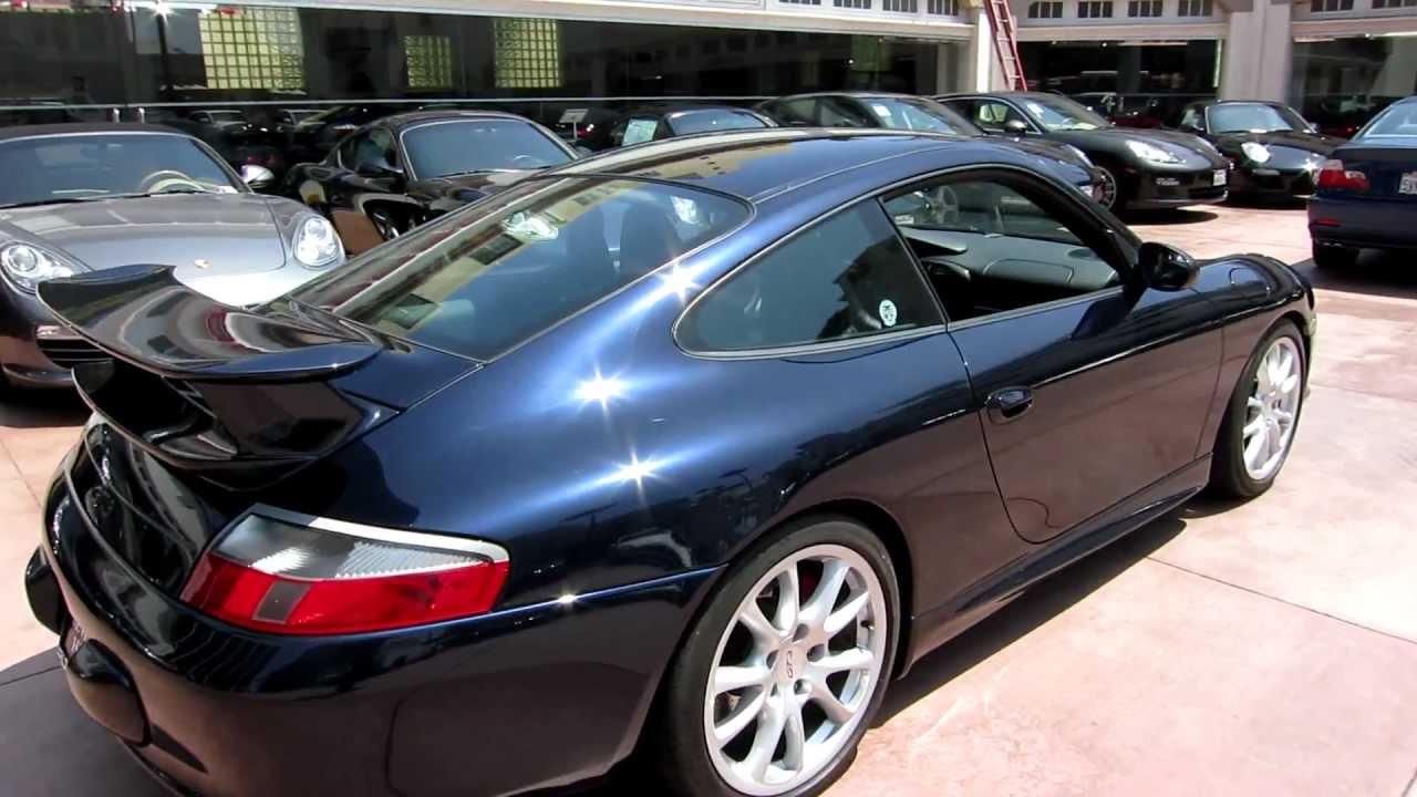 2004 Porsche 911 Gt3 Midnight Blue Metallic Black Leather