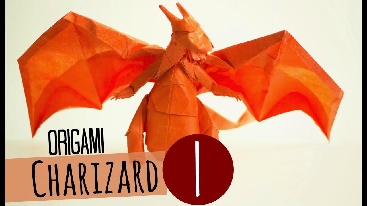 POKEMON  Origami Pokemon  Charizard demo Henry Phạm