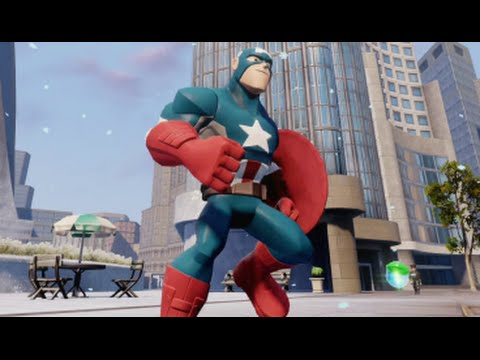 Disney Infinity 2.0 - Marvel Super Heroes - The Avengers Playset Walkthrough Part 4