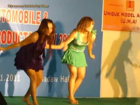 Myanmar Hot Models @ Automobile and Living Products Show 2011, Yangon