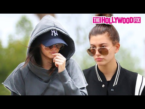 Kendall Jenner And Hailey Baldwin Visit A Tattoo Shop 5.7.15 - TheHollywoodFix.com Exclusive