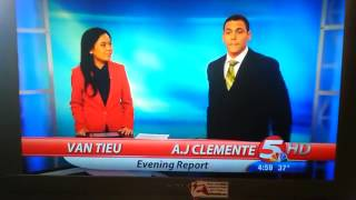 First Time TV Anchor Fail