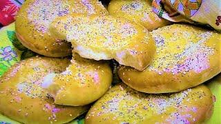 Безумно вкусные туркменские лепешки ЧУРЕКИ. Нравятся ВСЕМ!