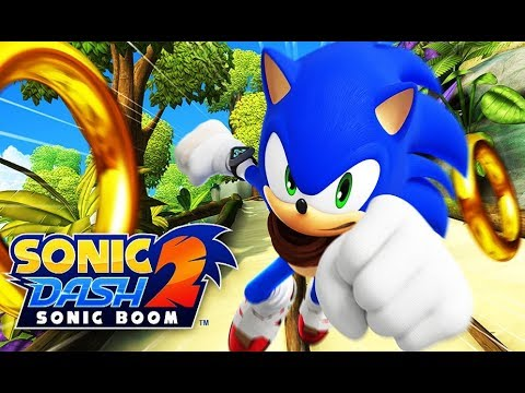 Sonic Dash 2: Sonic Boom Android Gameplay Funny Kids Games TV