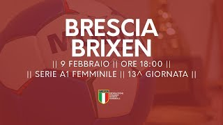 Serie A1F [13^]: Brescia - Brixen 19-22