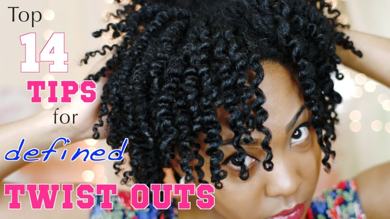 Twist Out Styles On Natural Hair: My Top 14 Tips For A Defined Twist Out On Natural Hair