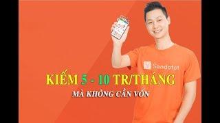 Hướng dẫn kiếm tiền từ App Sandotot - Thu thập thụ động không giới hạn