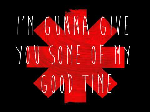 lyric snow red hot chili peppers: