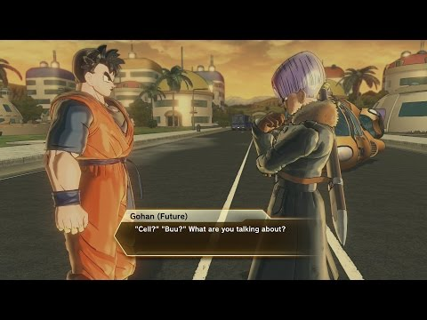 "Dragon Ball Xenoverse 2 - Secret Game Ending & True Final Boss Fight Walkthrough ""Unknown History"""