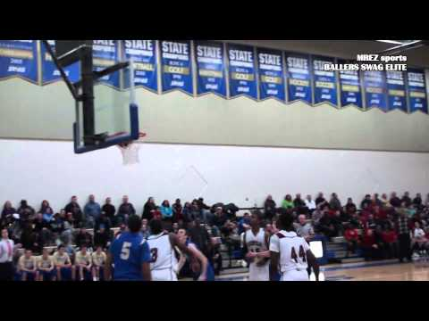 Basketball-Delshon Strickland Dunks Class 2014 SG