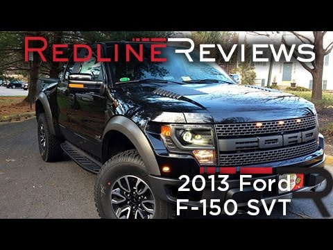 2013 Ford F-150 SVT Raptor Review. Walkaround. Exhaust. Test Drive