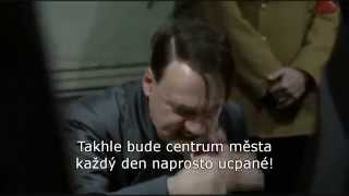 Hitler se dozvídá o uzavírkách v Olomouci