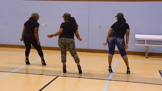 Finesse Line Dance   Bruno Mars Ft Cardi B   Choreography By Traci M Payne   TMichelle Line Dance