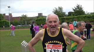 2017 Munster T & F Championships Master Men's 100m...Video by Jerry Walsh