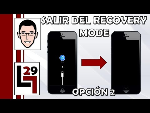 Como Salir Del Recovery Mode: Opción Sencilla y Rapida   Opción 2 - LGUILLOP29