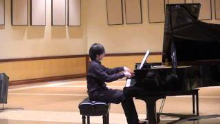 "Jonathan Po plays his own composition ""Deer Hunting"""