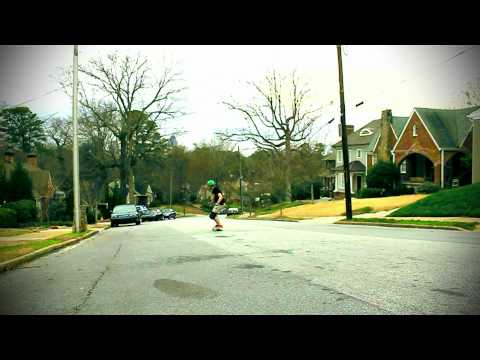 Longboarding, Cameron Frazier Gets Vicious