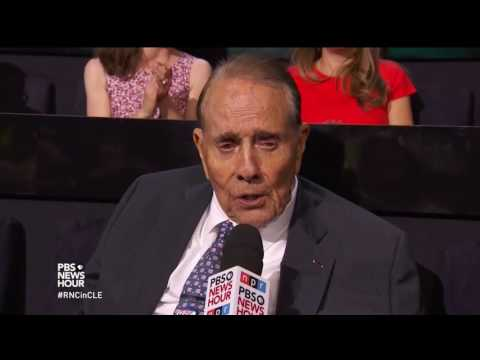 Bob Dole on why he supports Donald Trump