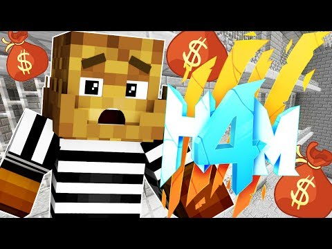 INTO THE WARZONE WE GO!! - HOW TO MINECRAFT SEASON 4 SMP (H4M) #9