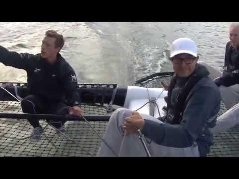 Team Tilt Sailing - Sortie Sponsor Julius Baer