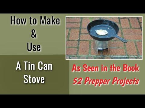 Homemade 39 tin can 39 air heaters survival shtf air heater for Tin can solar heater