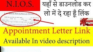 Appointment letter 3gp mp4 hd video download ed appointment letter joining letter altavistaventures Images