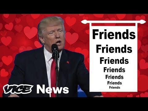 Donald Trump Lists His Many, Many, Many Friends