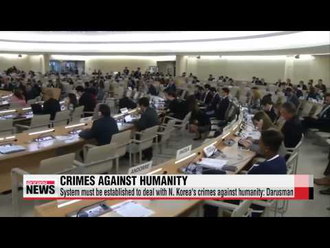 UN Human Rights Council hosts discussion on N. Korea′s human rights record   &qu
