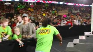 WWE Kofi Kingston Entrance 08/2011