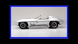 Auction-bound 1958 corvette custom pays homage to sting ray racer