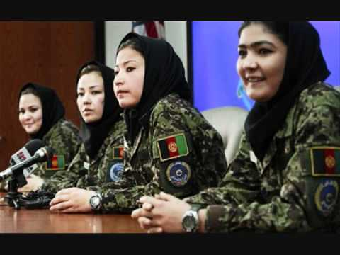 Afghan female army 2011