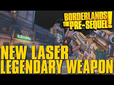 NEW! Borderlands The Pre-Sequel Legendary Laser Weapon!