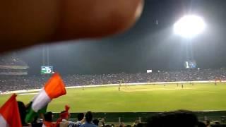 Virat Kohli Century hitting moments MCA Stadium Pune India vs England 1'st ODI 2017