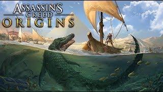 ASSASSIN'S CREED ORIGINS -Parte #24, todo em Português PT-BR! Em 1080p60fps Matando os crocodilos