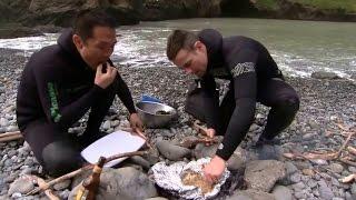 Bắt bào ngư nấu ăn ngay tại chỗ và cái kết thật bất ngờ