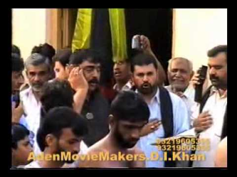 D.i.khan Bawa Sibtain Shah Noha meidi Zeen Tay Char Aao' video