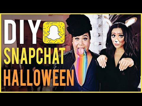 PATRICK STARRR'S Snapchat Inspired Halloween Makeup Looks! | Shay Mitchell