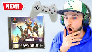 Fortnite on PS1 is CRAZY!